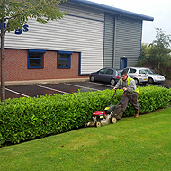 Commercial grounds maintenance at Rochdale Business